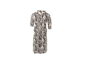 Dress Polo BLACK AND WHITE ZEBRA