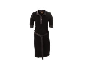 Dress Polo BASIC ZWART
