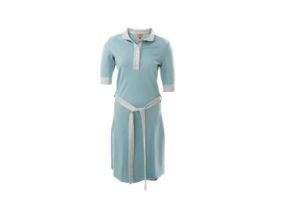 Dress Polo BASIC MIDDENBLAUW